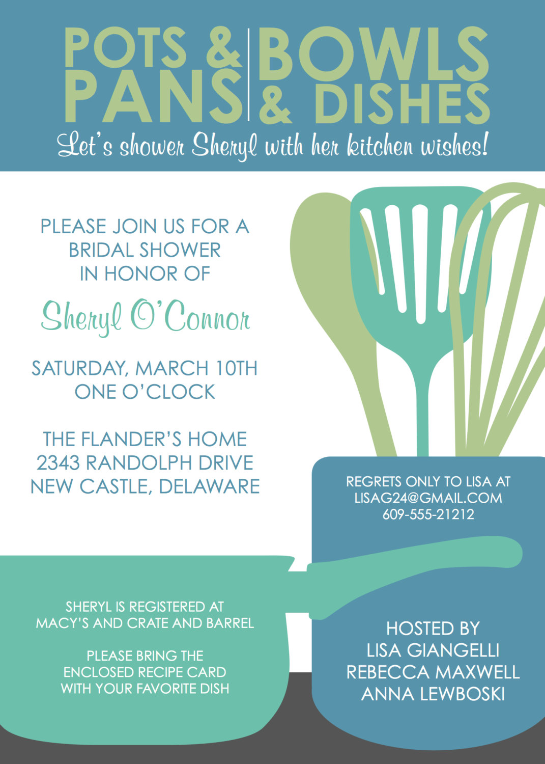 Bridal Shower Invitations Templates Free Download Il_fullxfull .